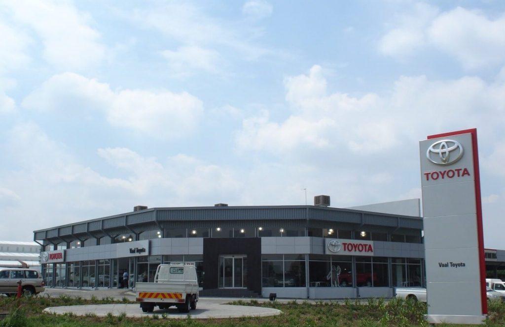Toyota Vehicle Showroom in Sasolburg