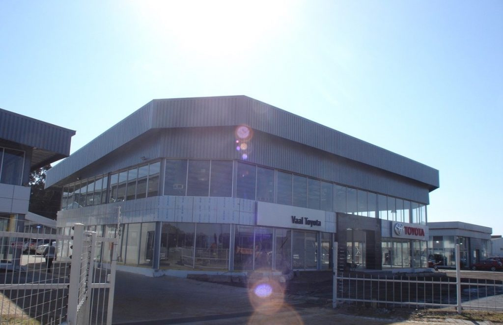 Toyota Showroom construction Vaal
